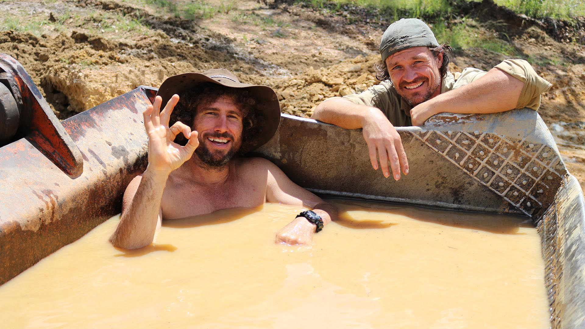 Goldsucher Australien
