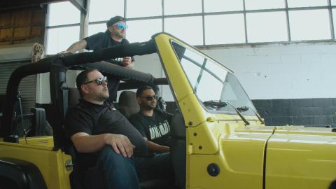 {E}02: Ein Jeep für den Nachwuchs-Produzenten