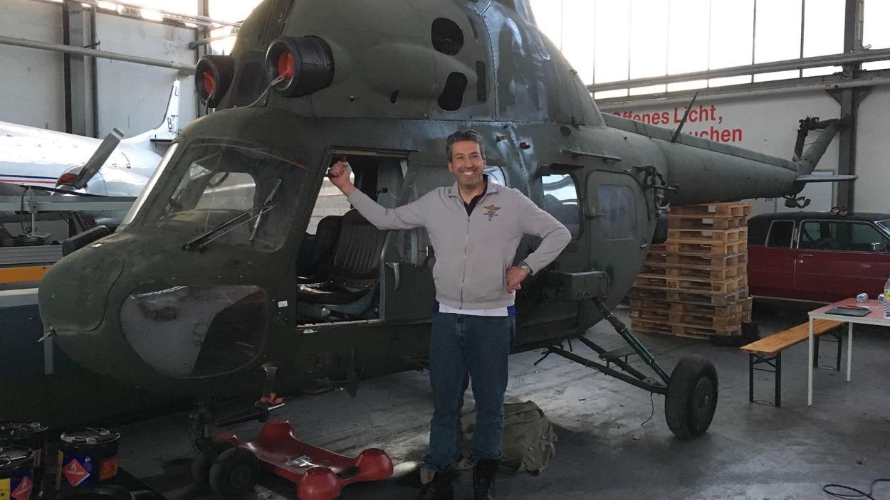 Michael Manousakis Antonov