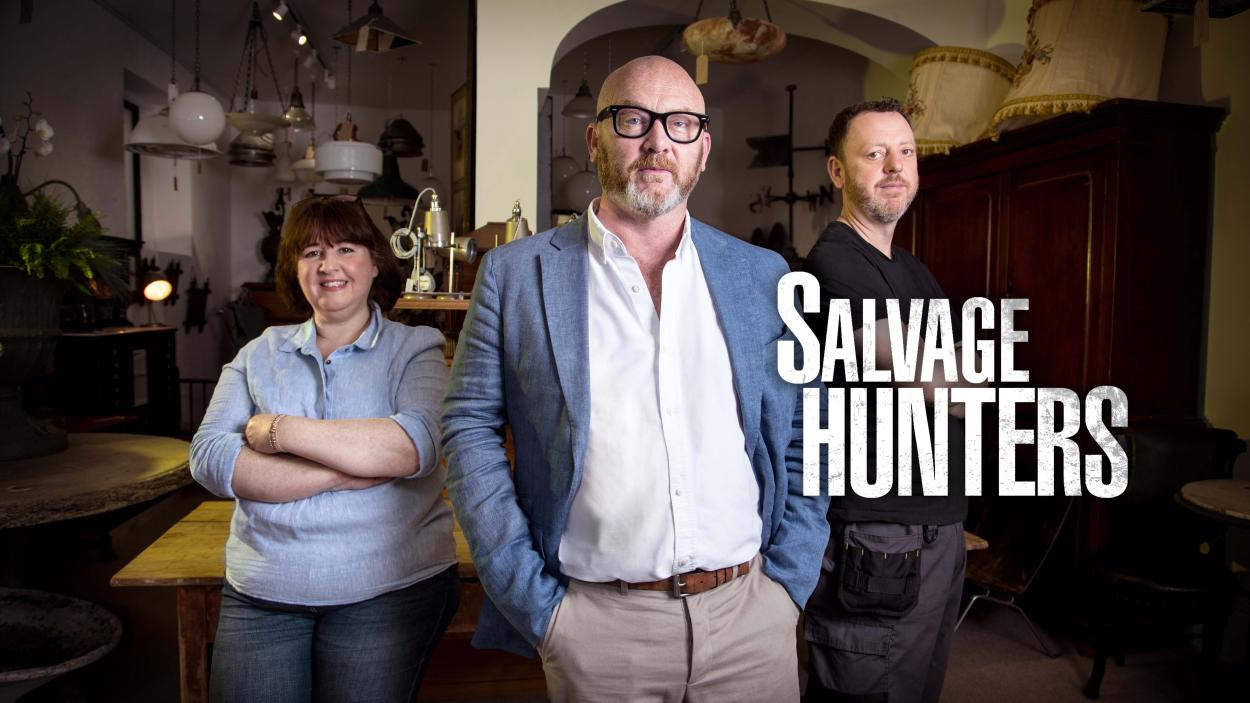 Drew Pritchard Antiques.Salvage Hunters