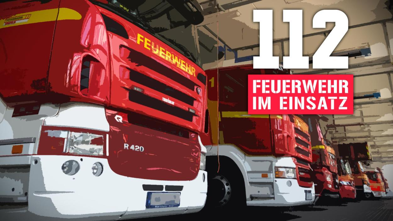112: Feuerwehr im Einsatz