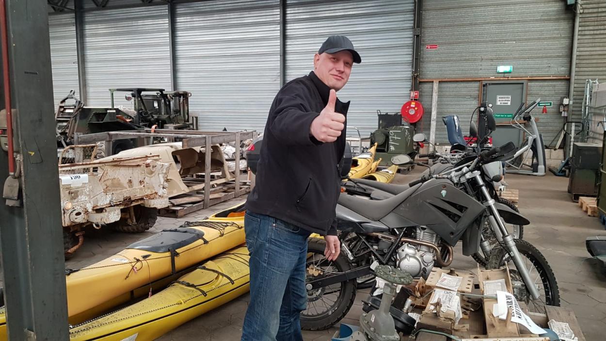Steel Buddies Auktion - Schrauber Ingo von Morlock Motors