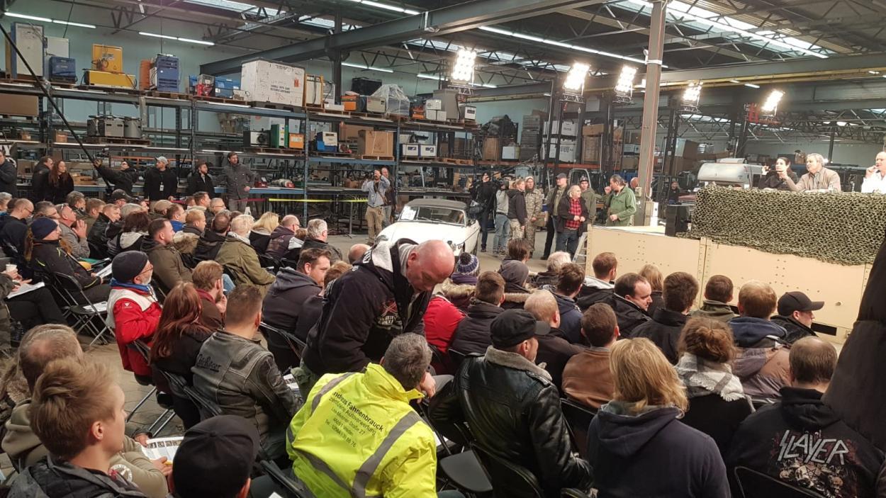 Steel Buddies Auktion: Viel Andrang auf dem Event!