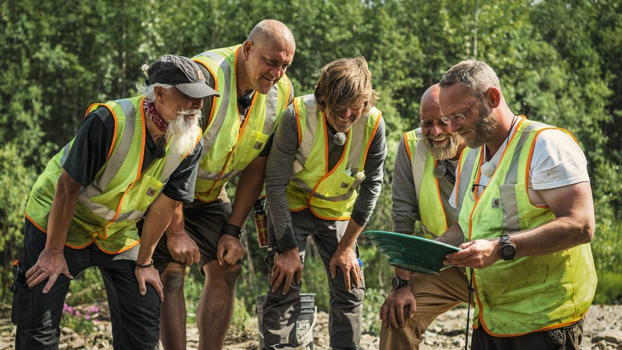 Goldrausch am Yukon: Gemeinsame Freude