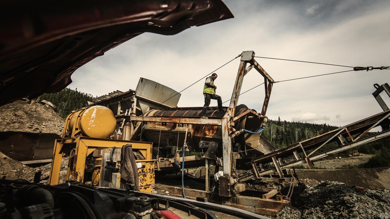 Goldrausch am Yukon: Wer hat die heftigen Geräte im Griff?