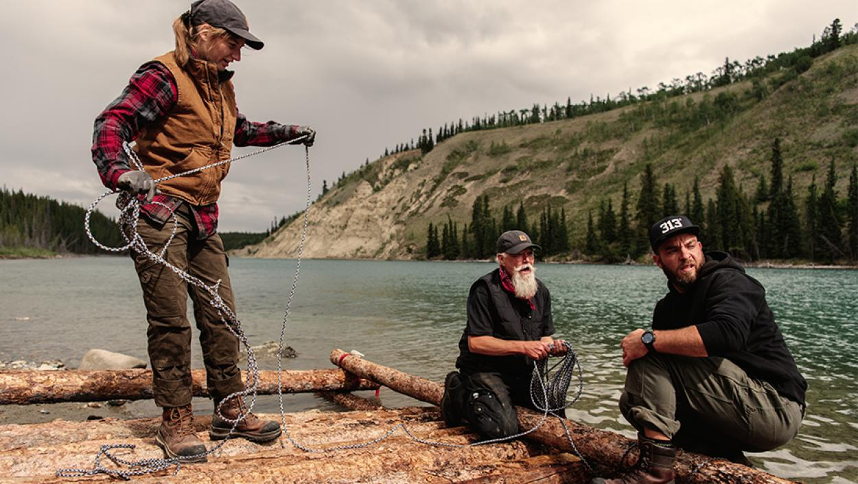 Goldrausch am Yukon: Mitten in der wilden Natur