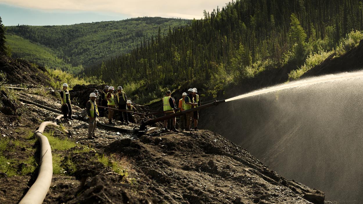 Goldrausch am Yukon: Wasser marsch!