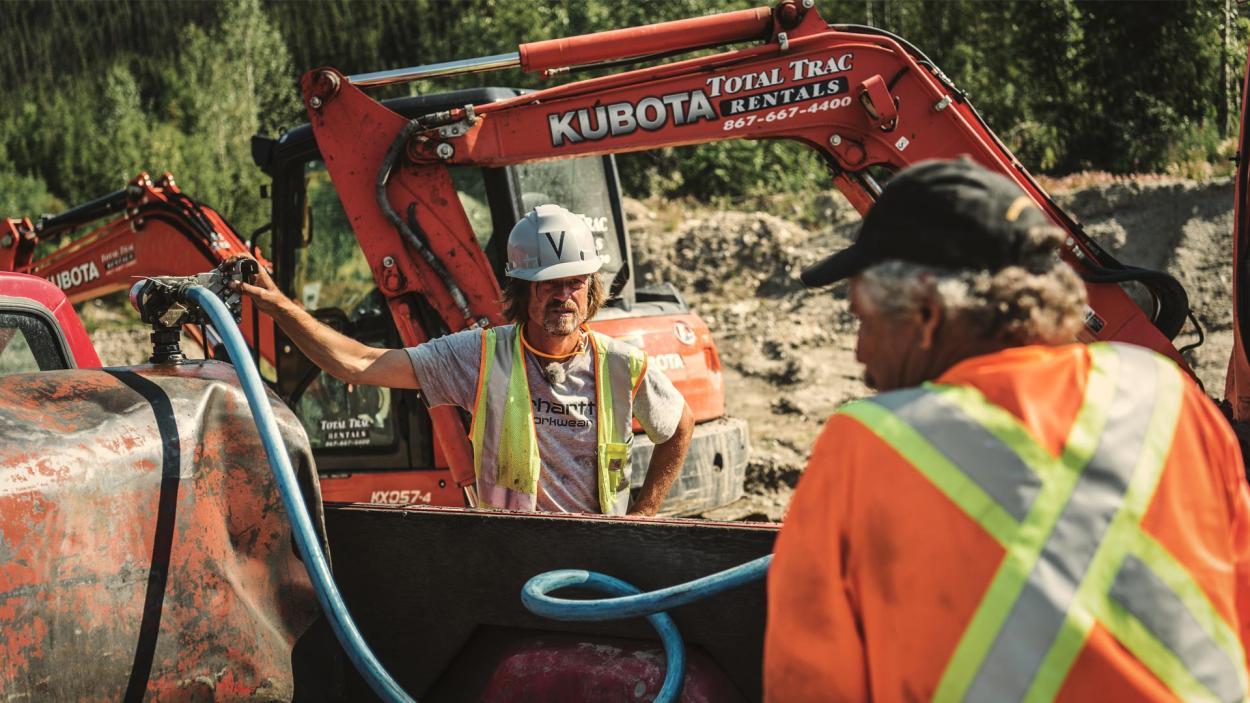 Goldrausch am Yukon: Wer hat die Maschinen im Griff?