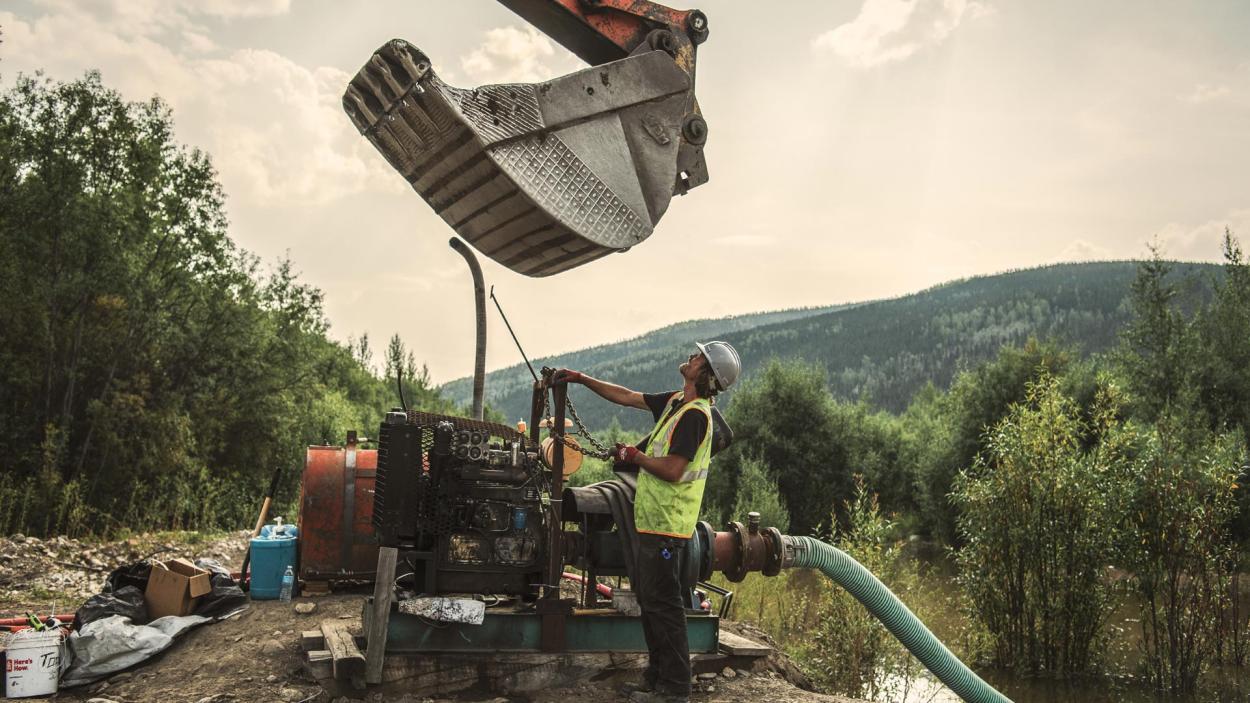 Goldrausch am Yukon: Schweres Geschütz!
