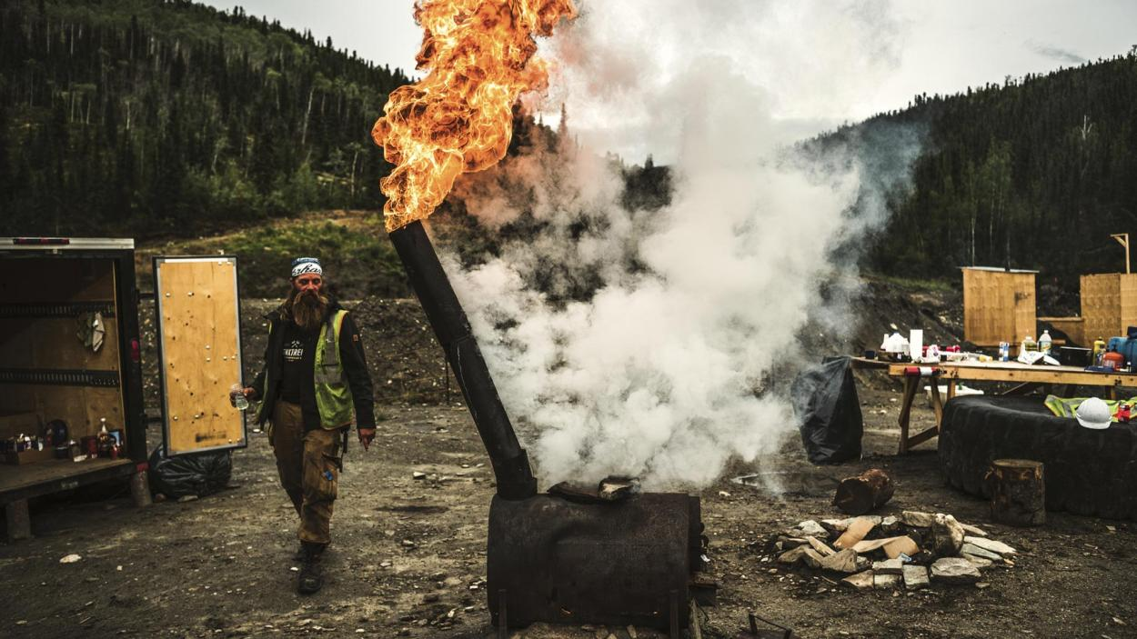 Goldrausch am Yukon: Wo Rauch ist...