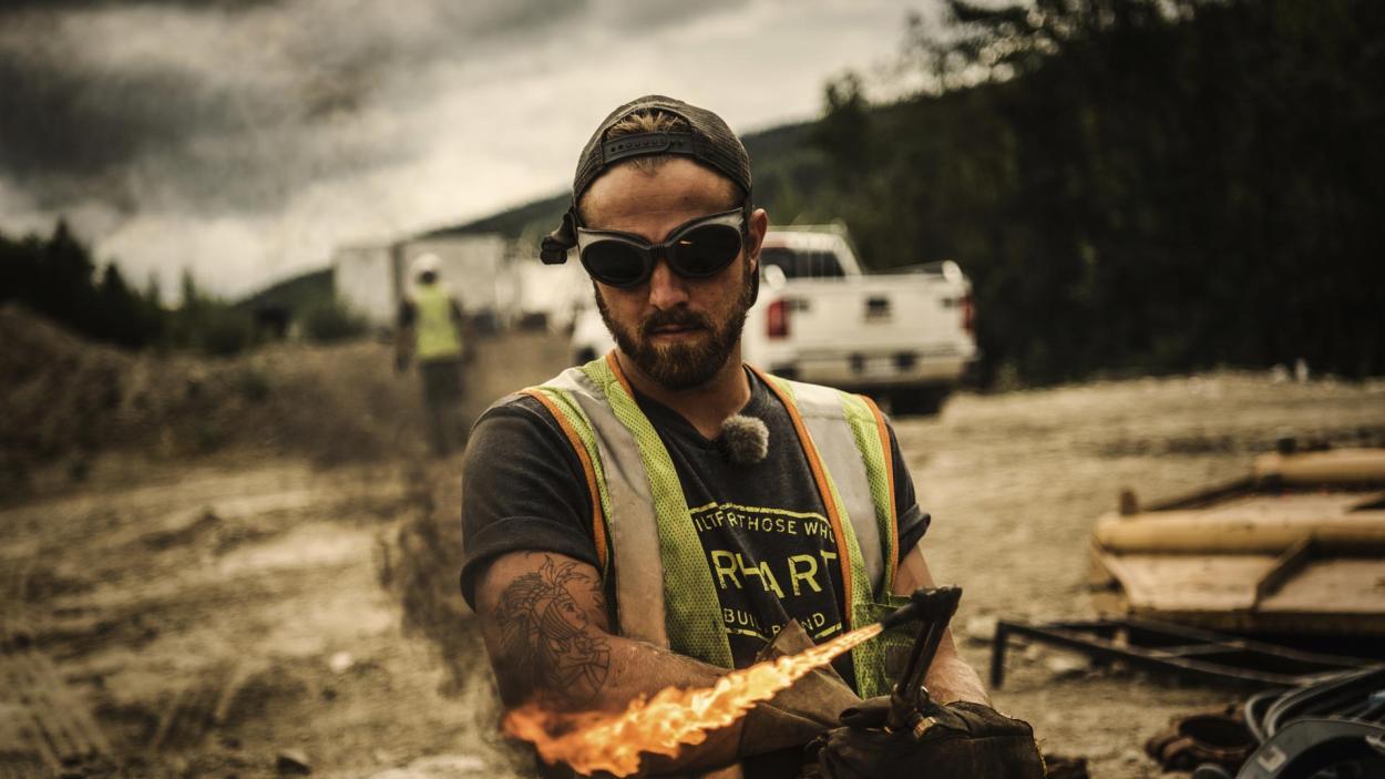 Goldrausch am Yukon: Das Spiel mit dem Feuer