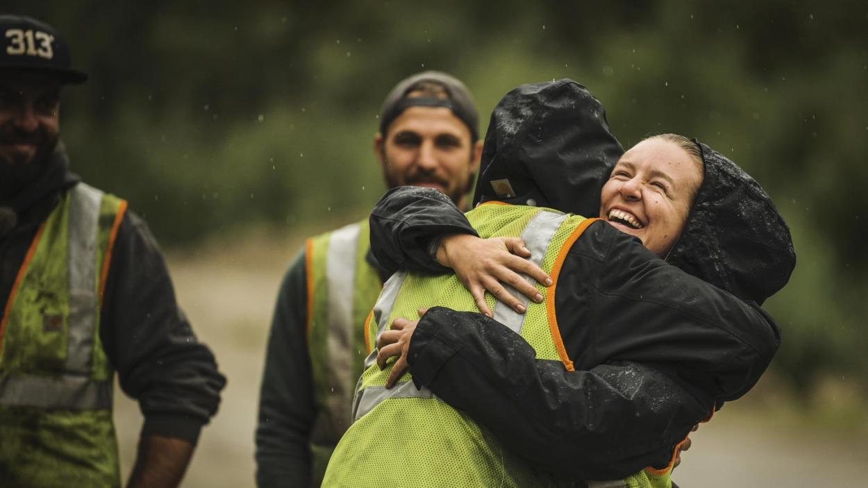 Goldrausch am Yukon: Große Freude