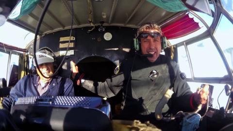 Steel Buddies: Flug über den Atlantik, Teil 2