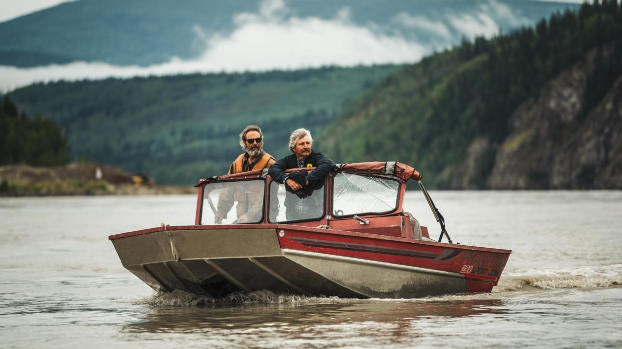 Goldrausch am Yukon: David Millar hält Ausschau auf dem Yukon