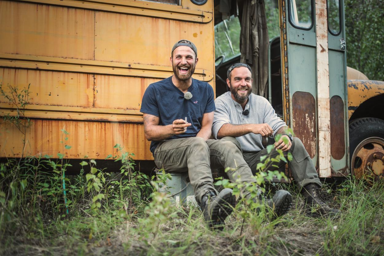 Goldrausch am Yukon: Moritz und Etienne - Bros fürs Leben?