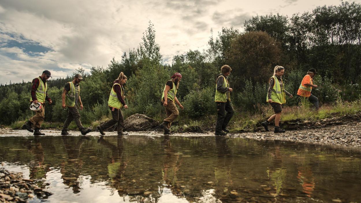 Goldrausch am Yukon: Ein langer Weg
