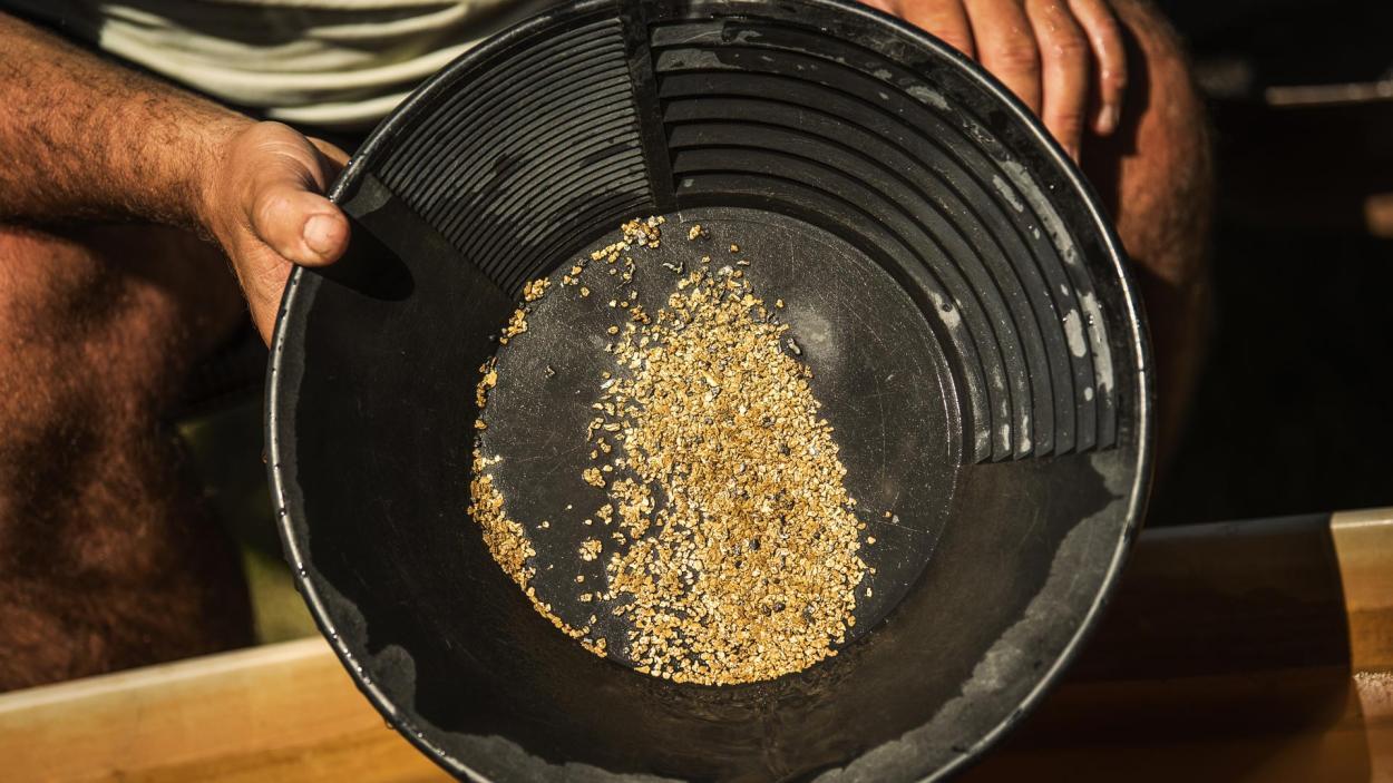Goldrausch am Yukon: Goldfund