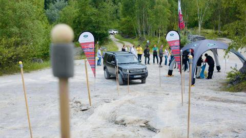 Land Rover Experience Days Qualifikation 2018