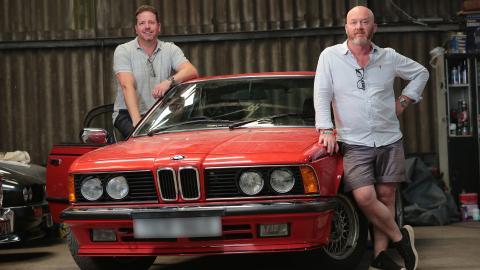 {E}03: MGC & BMW 635