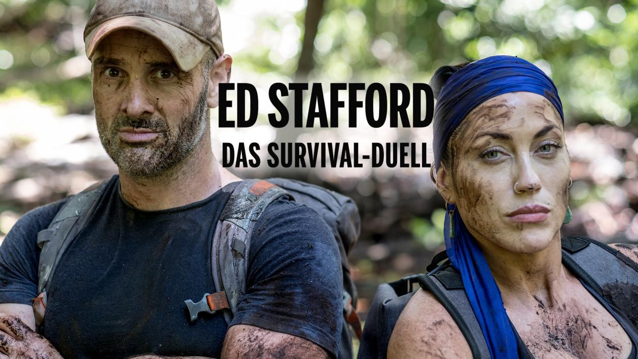 """MIT ED STAFFORD IN DIE WILDNIS! """"BORNEO: ED VS. ALDO KANE"""""""