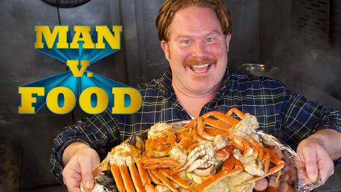Man vs. Food mit Casey Webb