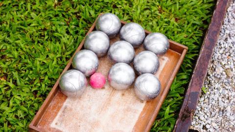 {S}25.{E}13. Petanque Balls, Biologic Medicines