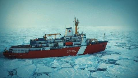 {S}03.{E}06: Der arktische Eisbrecher