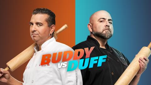 Buddy vs. Duff - Duell der Backgiganten
