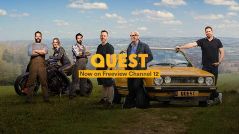 Quest moves up on Freeview TV guide!