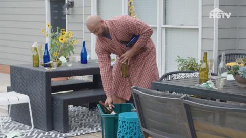 Schmücke deinen Garten - mit Wein!