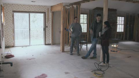 {E}07: Farmhaus mit Sturmschaden