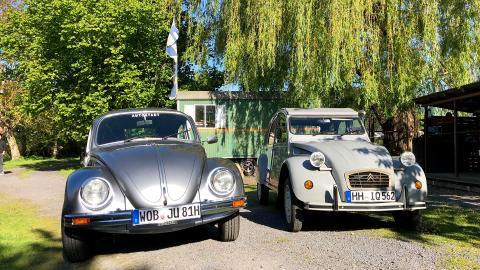 {E}03: Dauerläufer - VW Käfer vs. Citroen 2CV Ente