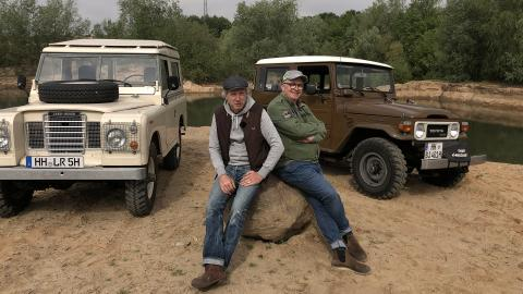 {S}01.{E}05. Offroad Urgesteine - Land Rover Defender vs. Toyota Land Cruiser