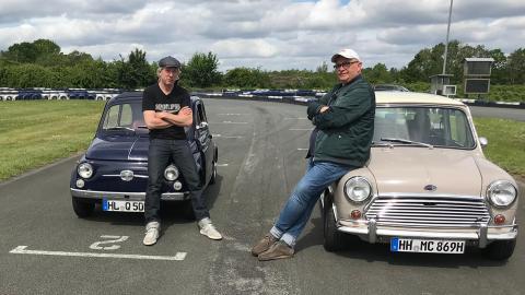 {S}01.{E}06. Klein aber fein - Mini Cooper vs. Fiat 500