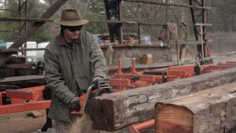 Saving A Rare Log Springhouse