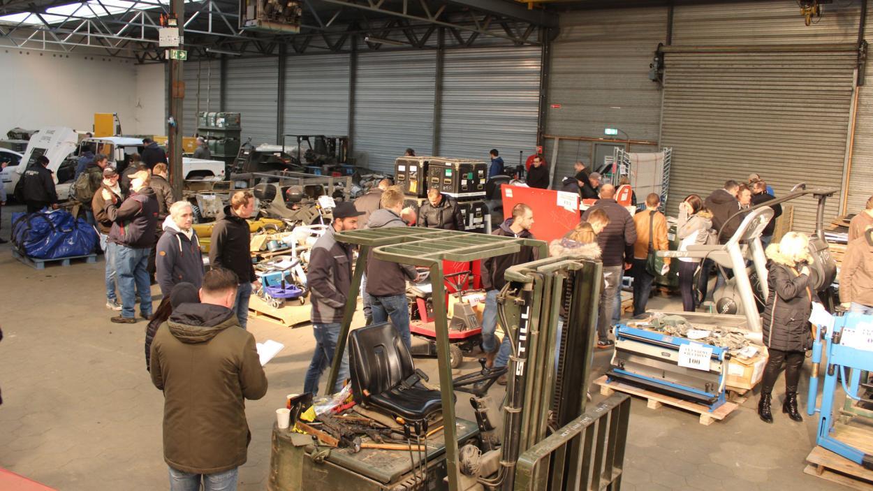 Steel Buddies Auktion: So viel Ware zu versteigern!