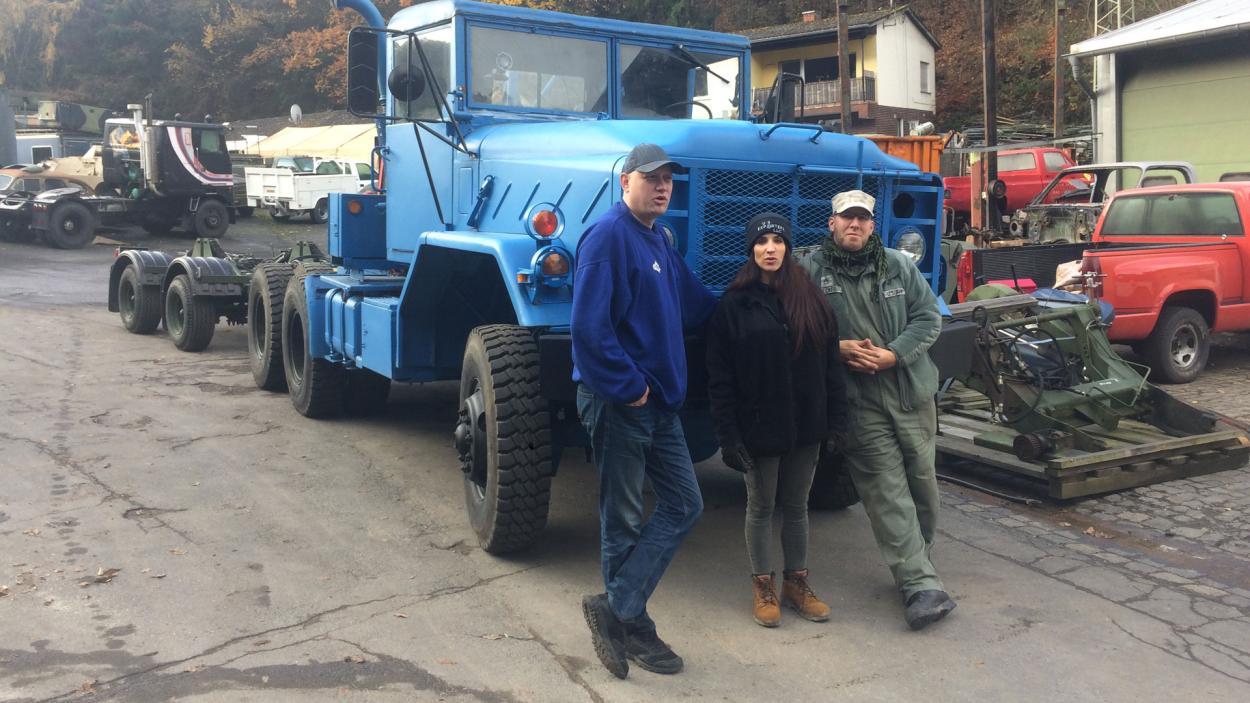 Steel Buddies Auktion: Die ganz großen Teile!