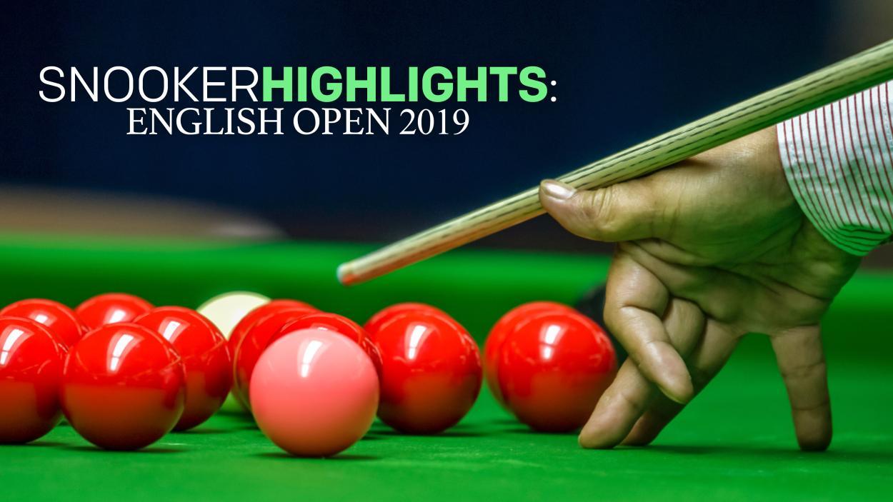 Snooker Highlights: English Open