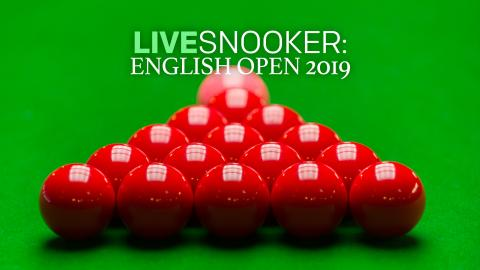 Live Snooker: English Open