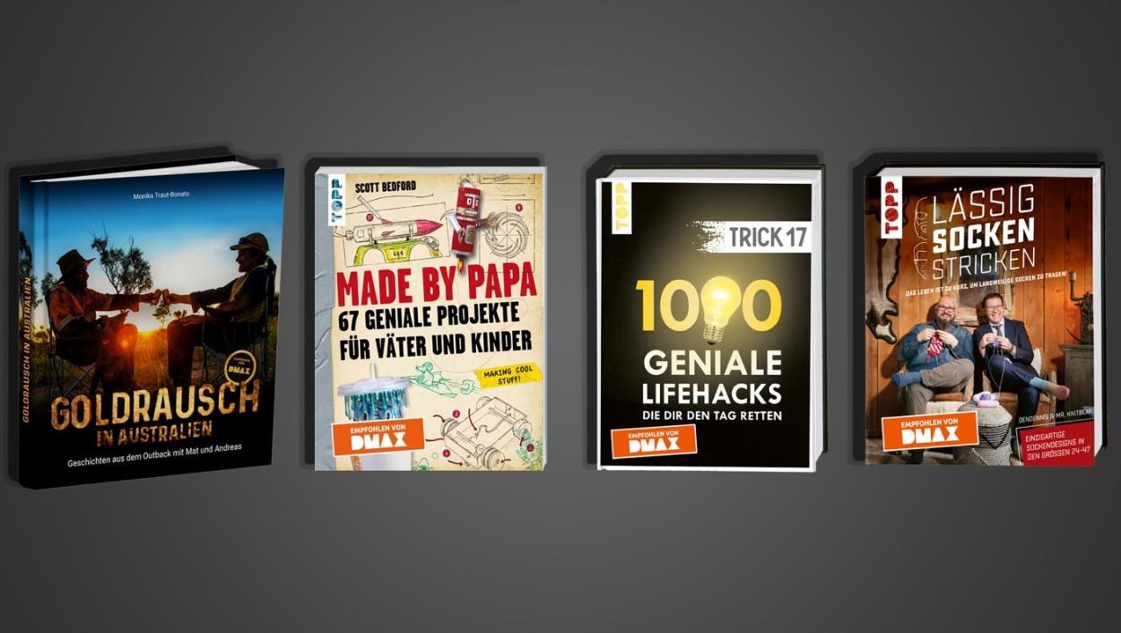 DMAX Buch-Tipp: Von DMAX empfohlen!