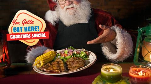 You Gotta Eat Here Christmas Special