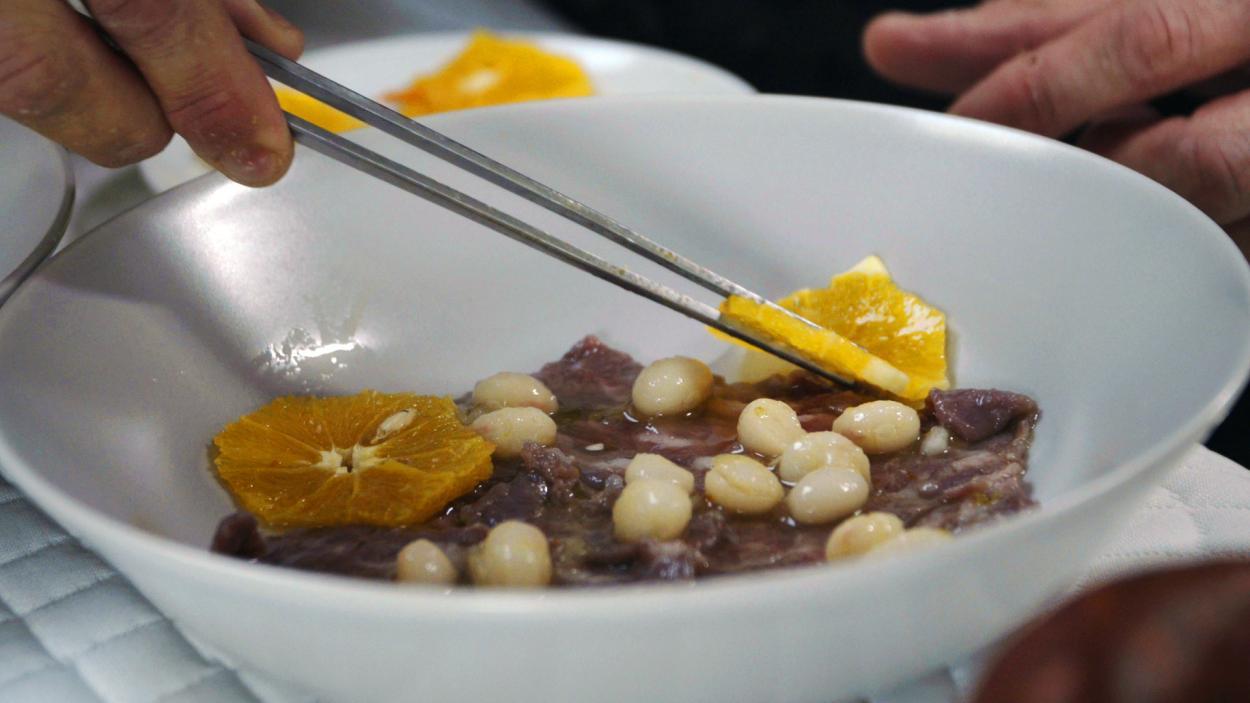 Rezept aus Folge 6: Basque Beef-Menü mit Pintxos à la Brian
