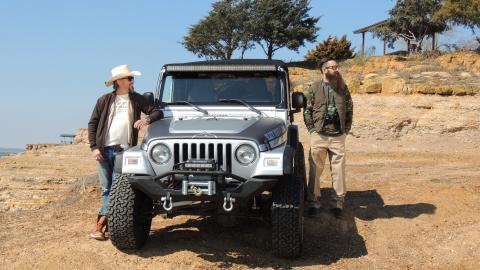 {E}17: Jacked-Up Jeep