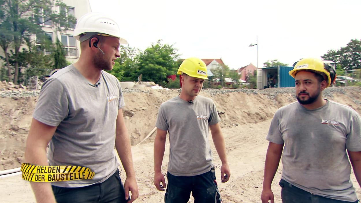 Helden der Baustelle