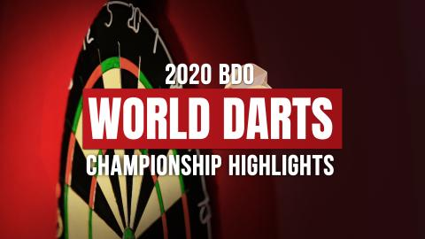 2020 BDO World Darts Championships Highlights