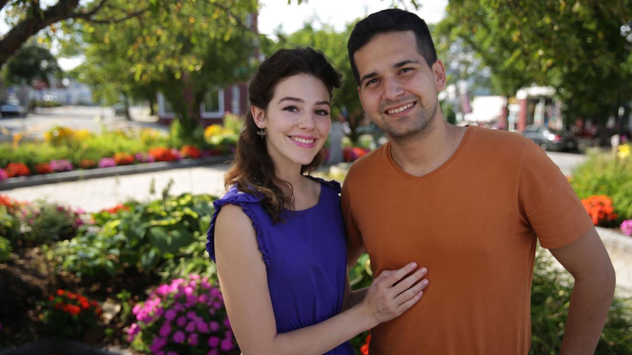 Evelyn (18) und David (27)