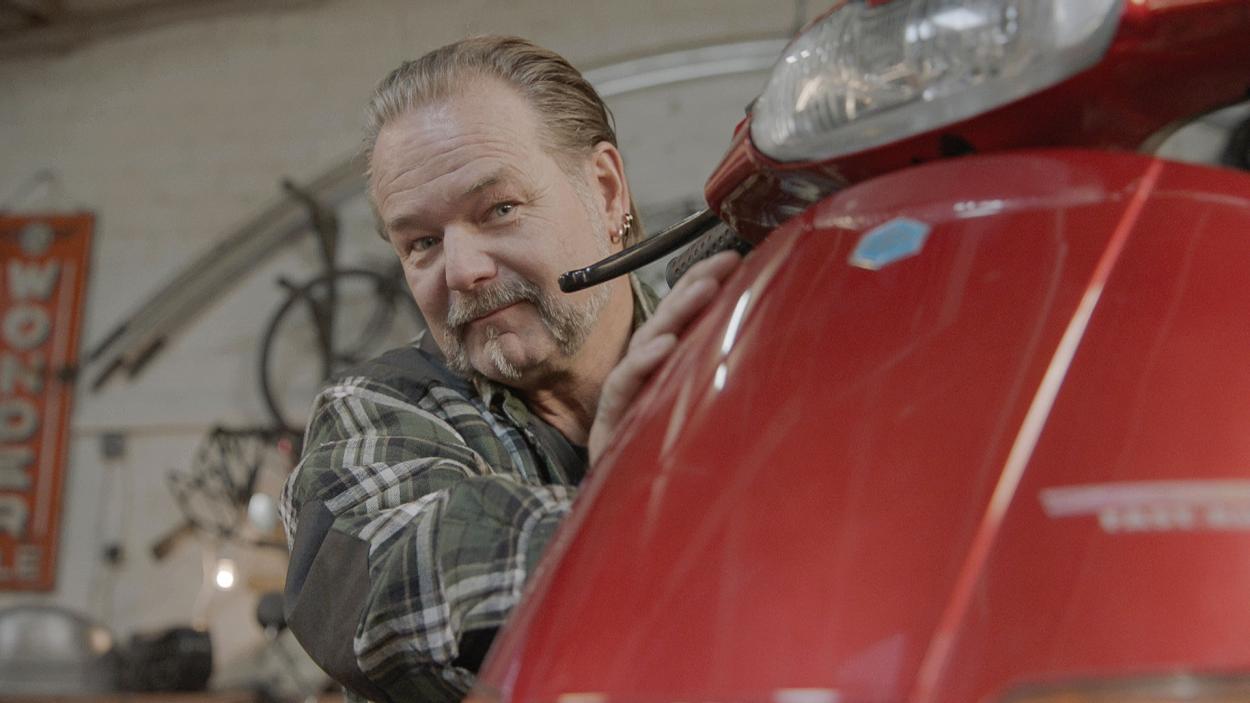 Der Schrauber: Thomas Schmidt (57), genannt Topper