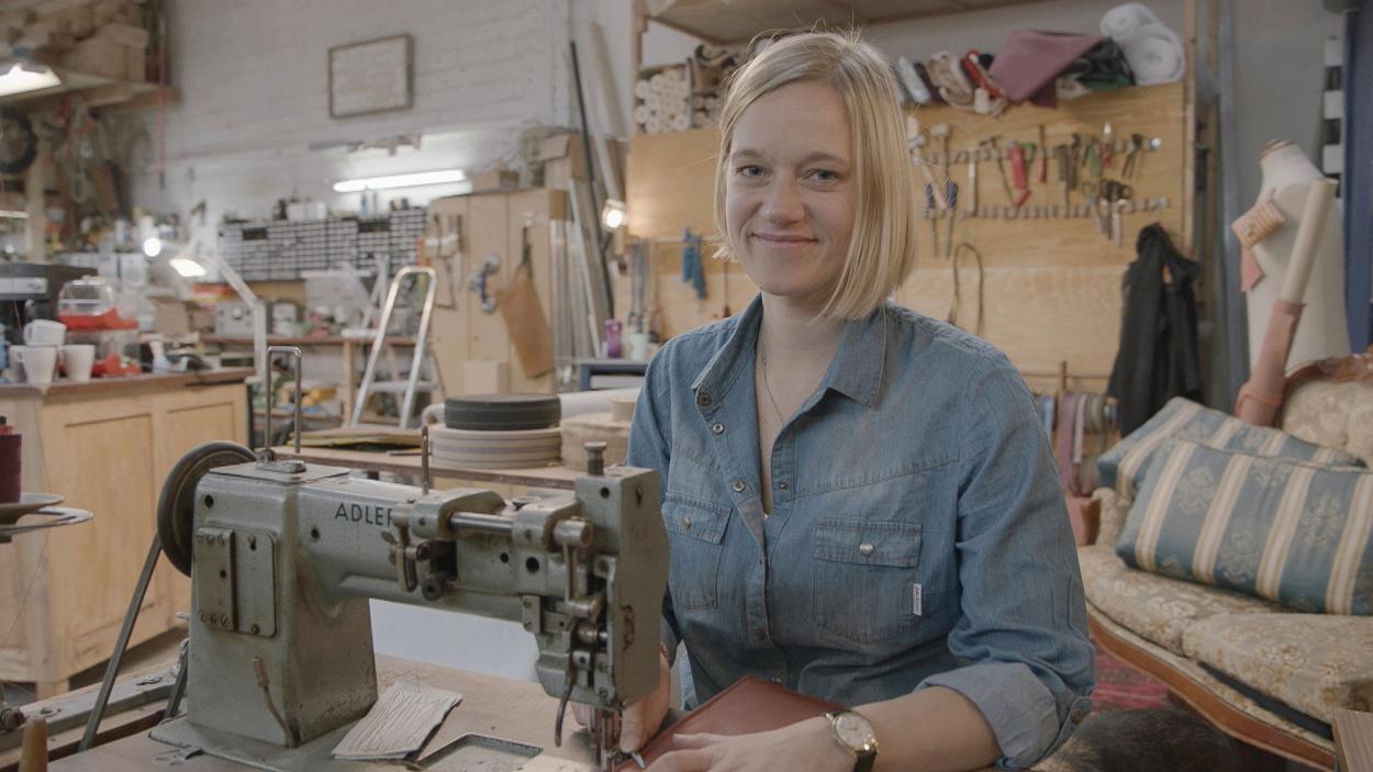 Die kreative Raumausstatter-Meisterin: Sarah Tiefenberg (36)