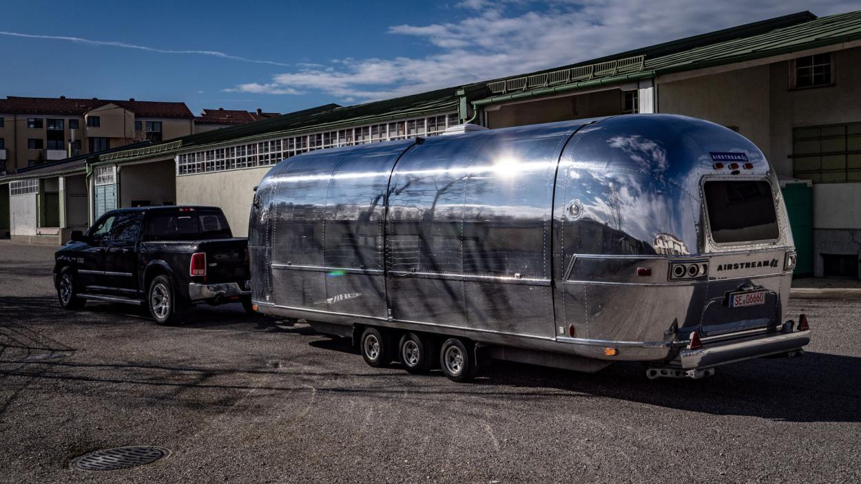 Das DMAX Mobil – der Airstream