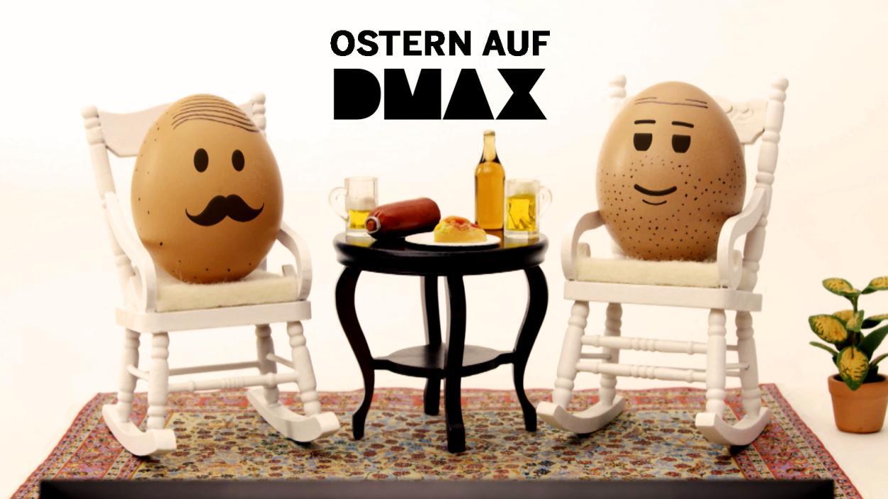 Ostern auf DMAX: Endlich mal wieder Zeit zum Eierschaukeln!
